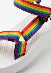 Teva - MIDFORM UNIVERSAL - Chodecké sandály - rainbow/white - 5