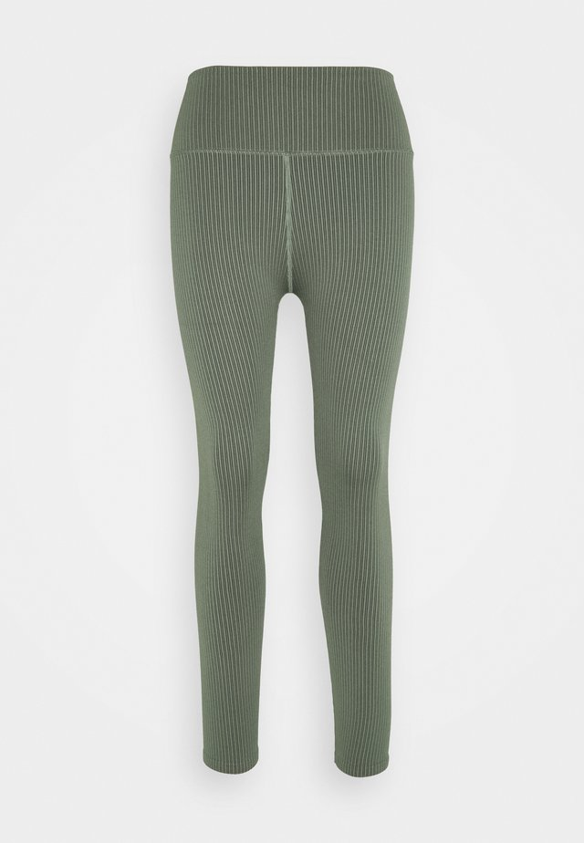 THE SEAMLESS LEGGING - Collants - agave