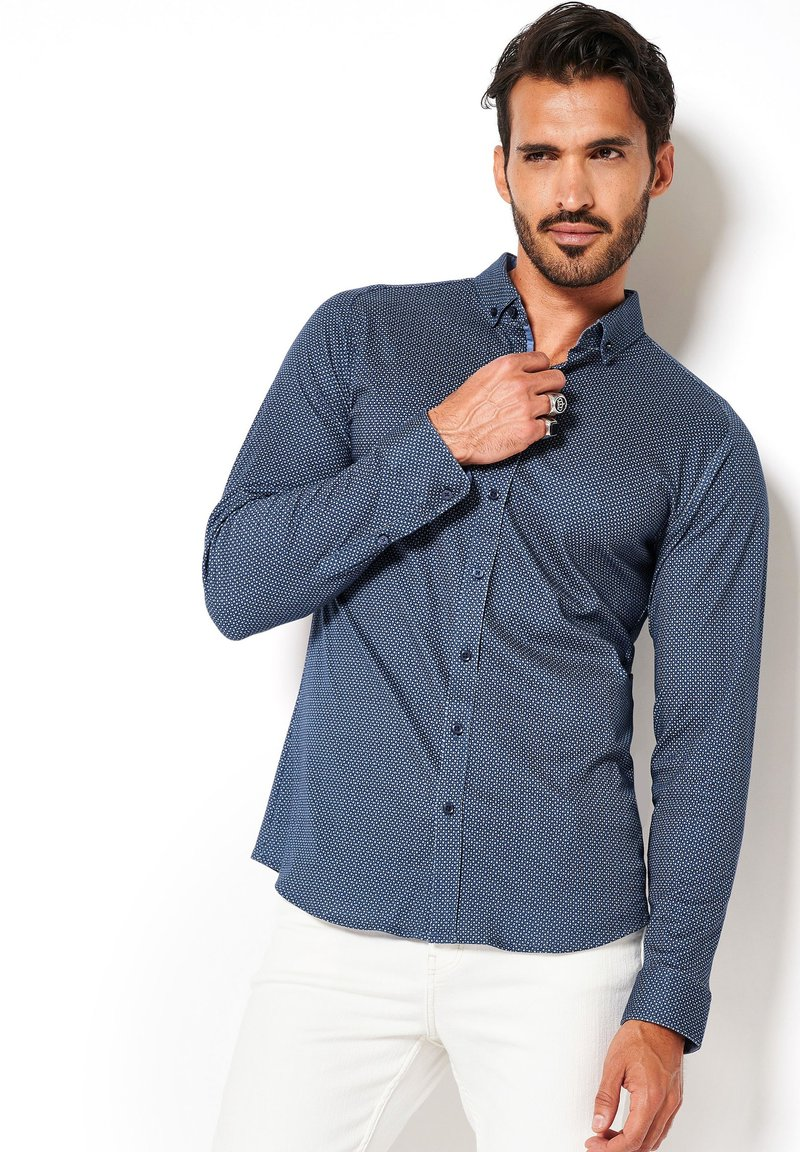 DESOTO - Shirt - blue