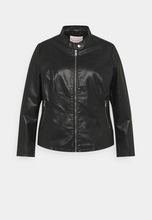 CARMELISA JACKET - Faux leather jacket - black