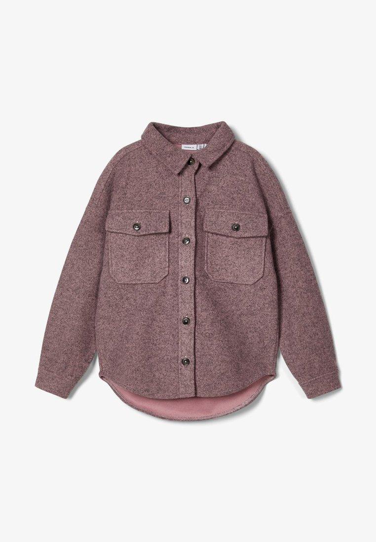Name it - Button-down blouse - adobe rose