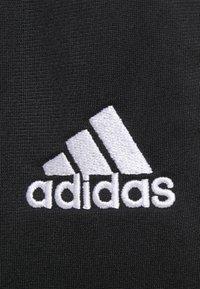 adidas Performance - Tracksuit bottoms - black/white - 4