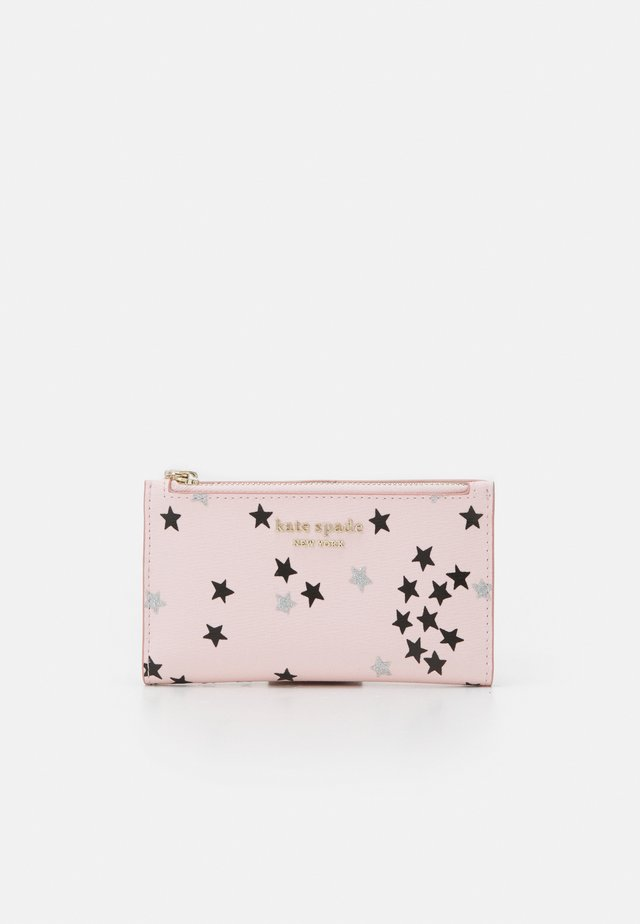 SMALL SLIM BIFOLD WALLET - Portefeuille - pink