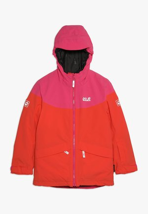 POWDER MOUNTAIN JACKET GIRLS - Ulkoilutakki - orange/coral