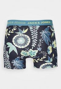Jack & Jones - JACDRAWING LEAF TRUNKS 3 PACK - Pants - real teal/forest night/light grey - 6