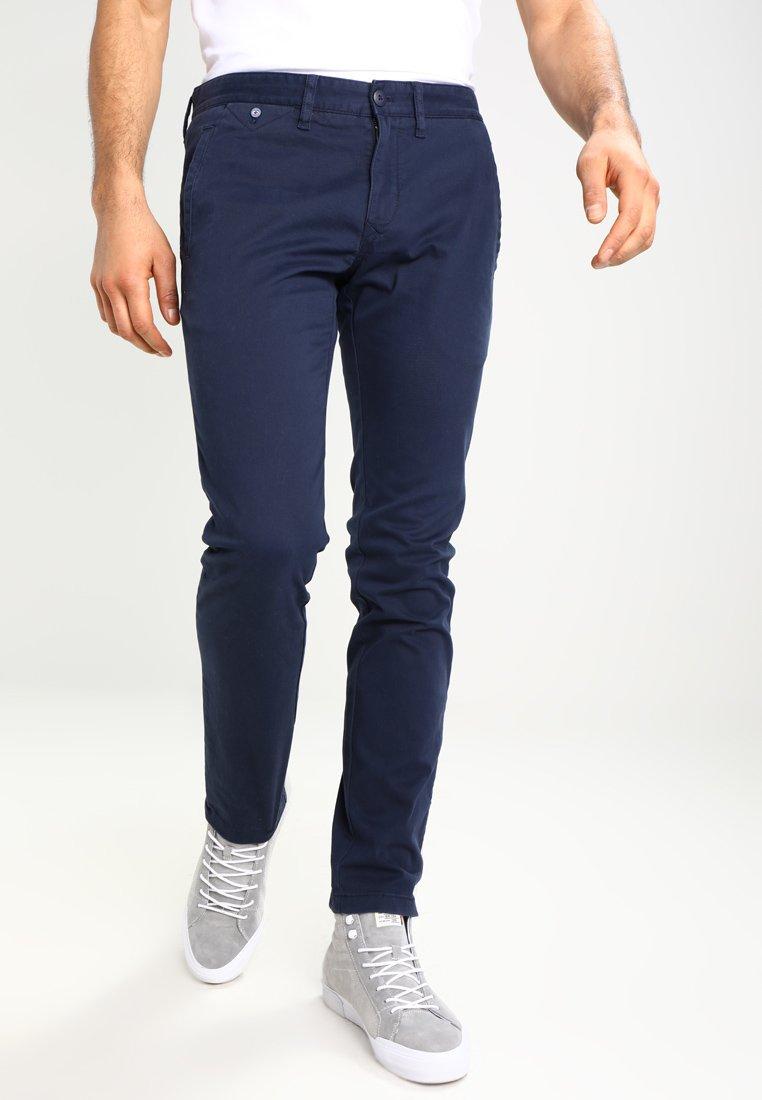 Tommy Jeans - SLIM FERRY - Chinos - navy blazer