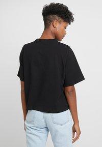 Weekday - TRISH - T-shirts - black - 2