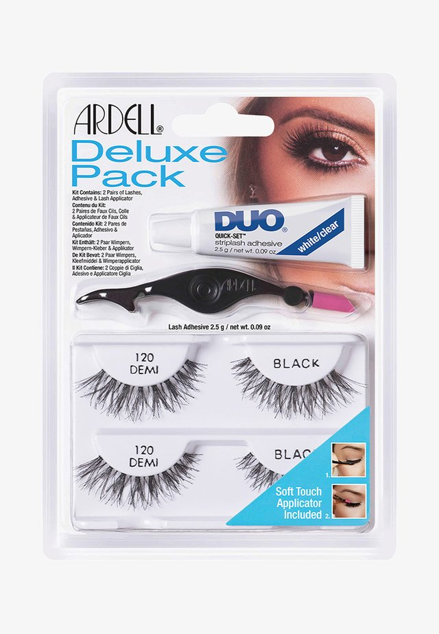 ARDELL DELUXE PACK 120 EU FORMULA - False eyelashes - -