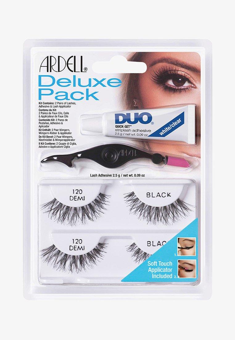 Ardell - ARDELL DELUXE PACK 120 EU FORMULA - False eyelashes - -