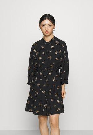 SLFMARGUNN SHORT DRESS - Jurk - black