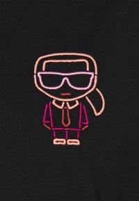 KARL LAGERFELD - IKONIK OUTLINE TEE - T-Shirt print - black - 5