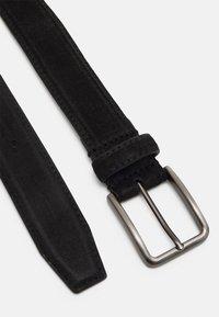 Zign - LEATHER UNISEX - Belte - black - 1