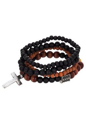 TRY 4 PACK - Bracelet - black/brown