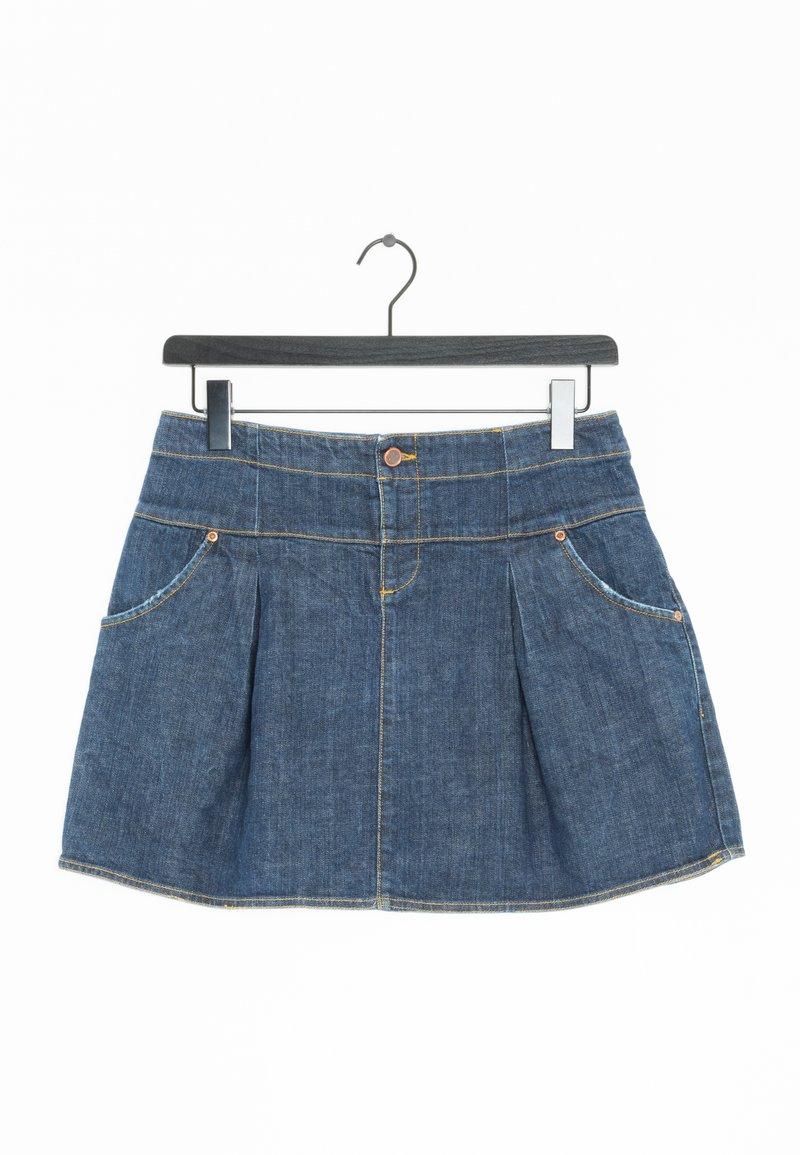 Mads Nørgaard - Spódnica trapezowa - blue