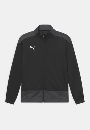 TEAMGOAL JR - Sportovní bunda - black asphalt