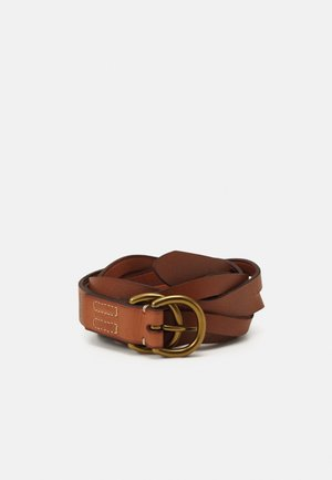 BELT SKINNY - Belt - cuoio