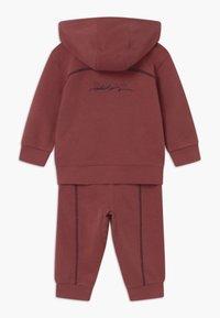 adidas Originals - HOODIE SET UNISEX - Survêtement - legred - 1