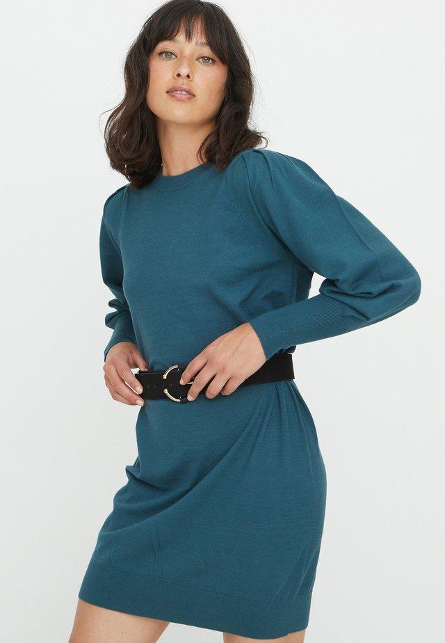 Jumper dress - teal
