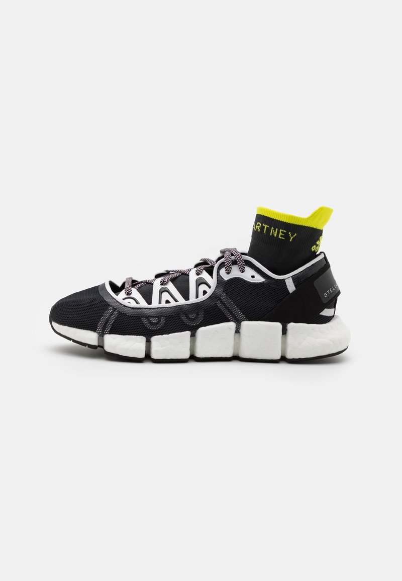 adidas by Stella McCartney - ASMC CLIMACOOL VENTO - Zapatillas de running neutras - footwear white/acid yellow/core black