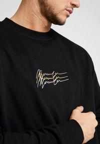Mennace - TRIPLE SIGNATURE  - Sweatshirt - black - 5