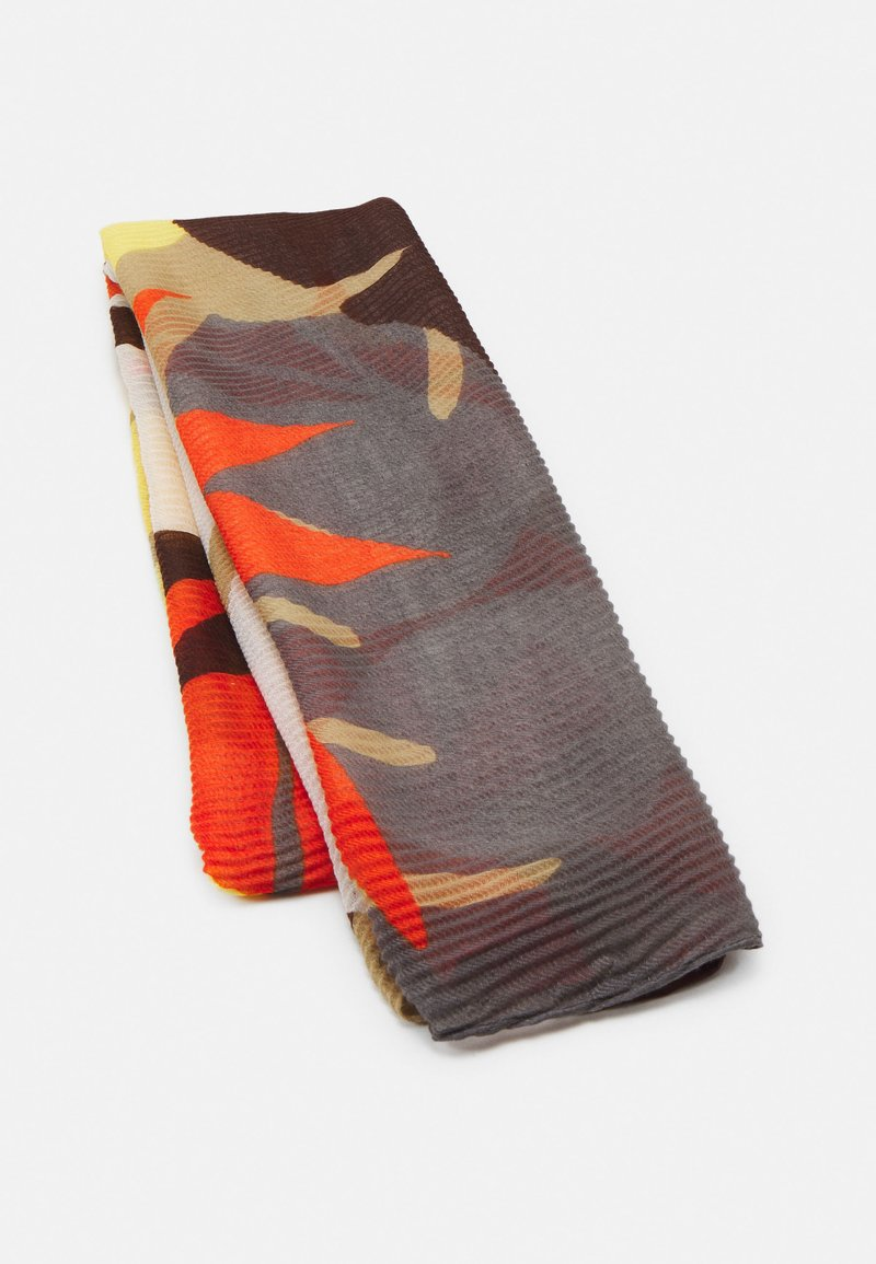 Codello - FLOWERS PLEATED - Foulard - camel