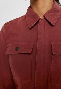 Madewell - HOLIDAY COVERALL - Jumpsuit - rusted burgundy - 6