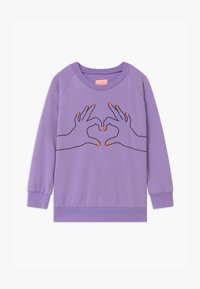 WAUW CAPOW by Bangbang Copenhagen - LOVE - Sweatshirt - purple - 0