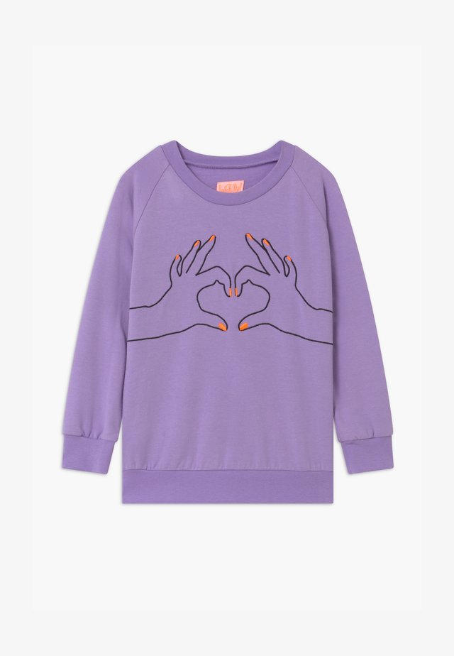LOVE - Bluza - purple