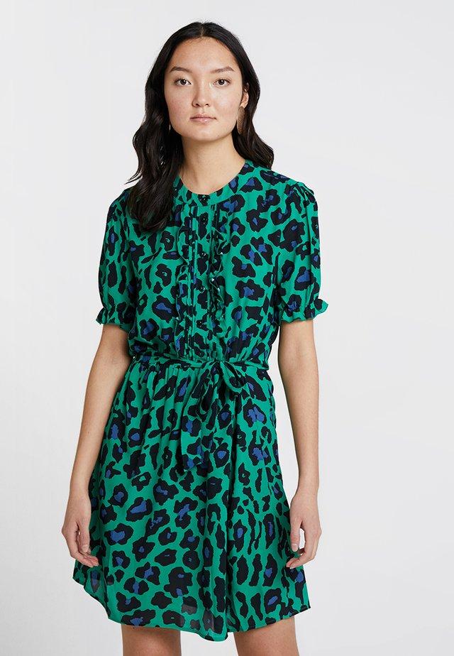 CHASE DRESS - Korte jurk - green