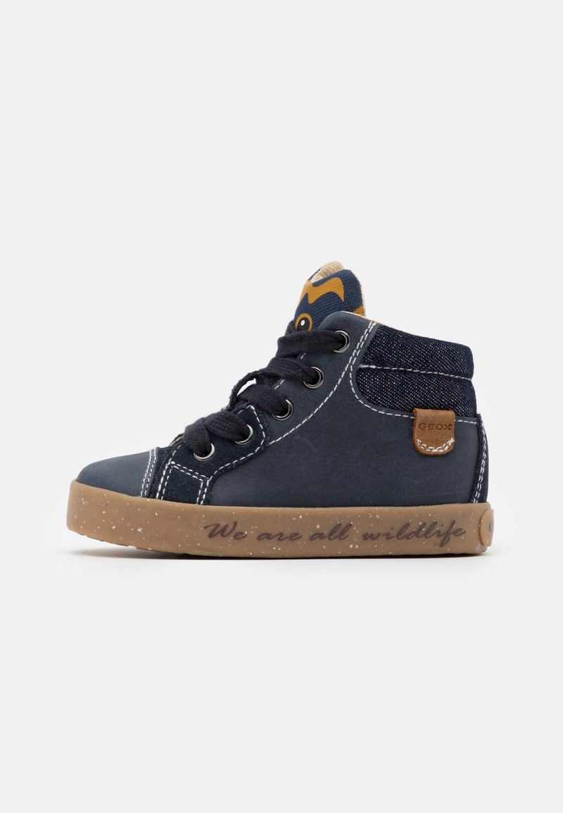 Geox - KILWI BOY - High-top trainers - navy