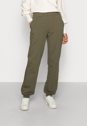 GINO PANT - Tracksuit bottoms - army