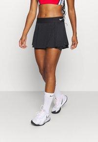 Nike Performance - DRY SKIRT - Sportovní sukně - black/white - 0
