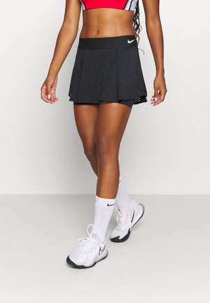 DRY SKIRT - Sports skirt - black/white
