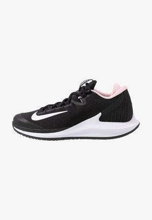 COURT AIR ZOOM HC - Allcourt tennissko - black/white/pink foam