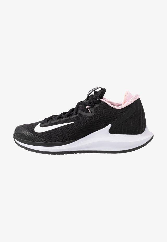 COURT AIR ZOOM HC - Tennisschoenen voor alle ondergronden - black/white/pink foam