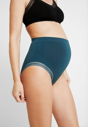 MILK MATERNITY SEAMLESS HIGH WAIST BRIEF - Braguitas - green