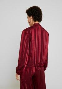 Fransa - FRGASHADOW JACKET - Summer jacket - syrah - 2