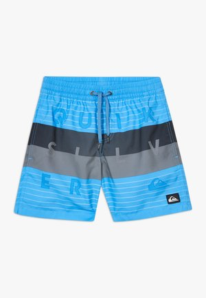 WORD BLOCK VOLLEY YOUTH - Swimming shorts - blue nights