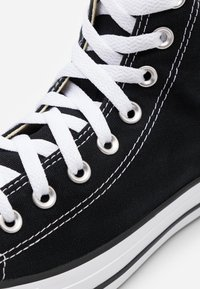 Converse - CHUCK TAYLOR ALL STAR WIDE - High-top trainers - black - 5