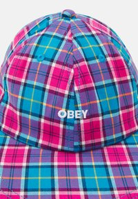Obey Clothing - MADRAS DUCKBILL - Cap - aqua/multi - 3