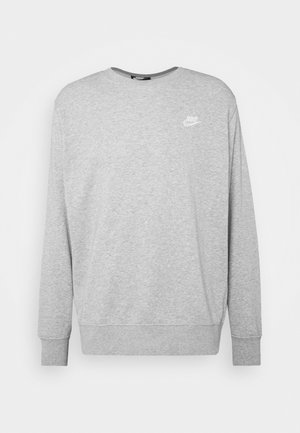 CLUB - Felpa - dark grey heather/white