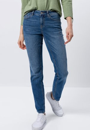 SEATTLE - Slim fit jeans - light blue stone washed