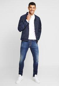 Antony Morato - BIKER COAT - Summer jacket - ink blue - 1