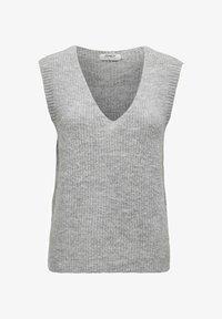 ONLY - Top - light grey melange - 5