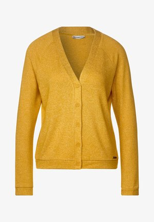 IN MELANGE-OPTIK - Cardigan - gelb