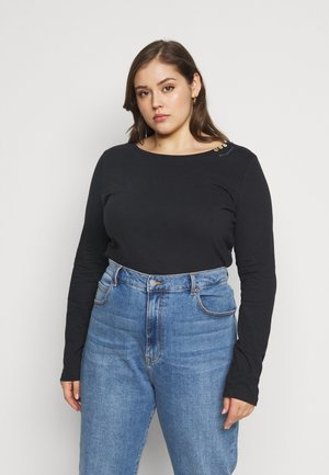 FLORAH LONG - Long sleeved top - black uni