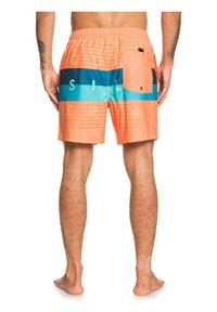 Quiksilver - WORD BLOCK VOLLEY 17 - Swimming shorts - nectarine - 2