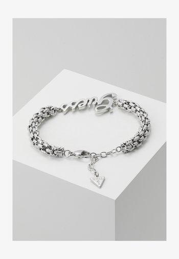 LOGO POWER - Bracelet - silver-coloured