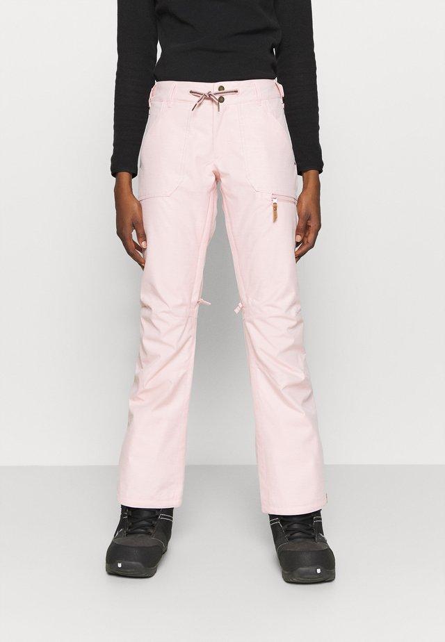 NADIA - Ski- & snowboardbukser - silver pink