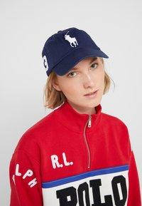 Polo Ralph Lauren - CLASSIC SPORT CAP  - Keps - newport navy - 4